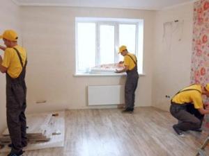 Робота для будівельника-універсала з внутрішнього оздоблення квартир