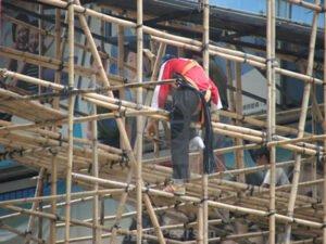 Робота для монтажника будівельних лісів на будівництві