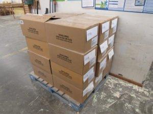 Офіційне працевлаштування на склад харчових продуктів в Литві. Продукцію в коробках укладати на піддон. Оплата праці 800-1500 € / місяць.