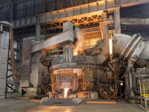 Работа на литейном заводе