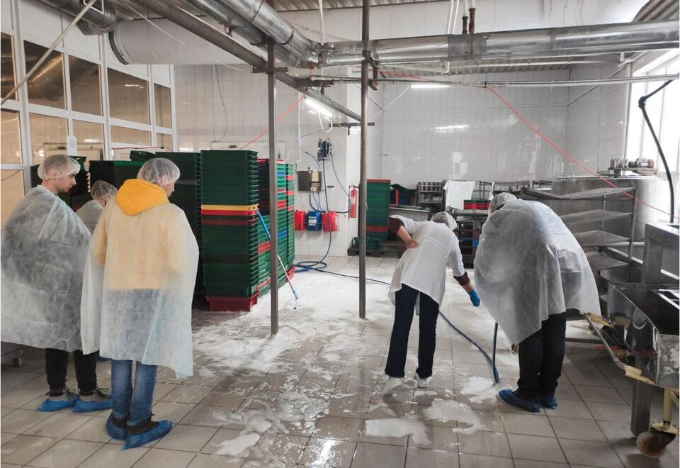 Вакансия для рабочего на курином комбинате в Польше