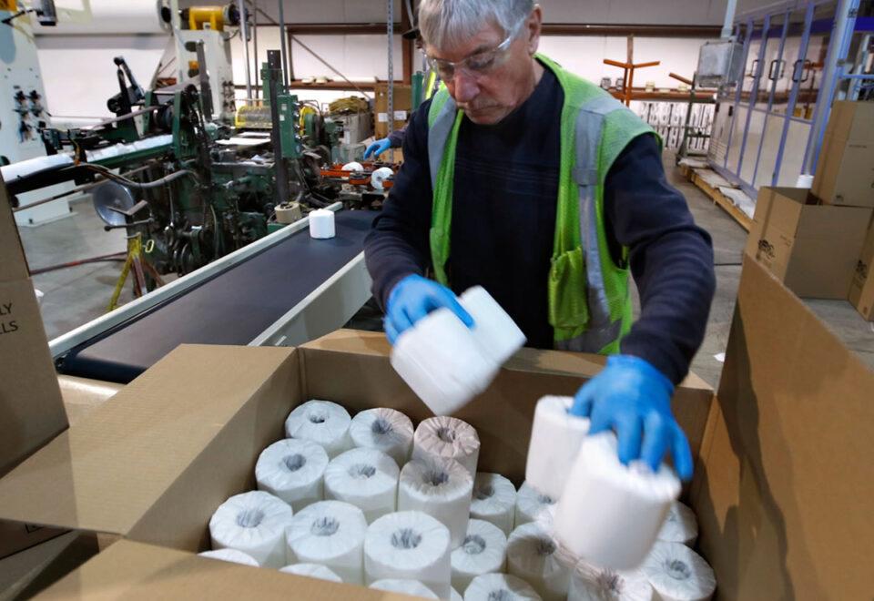 Вакансія для для пакувальника паперу, серветок на виробництві в Польщі