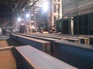 Работа на заводе по изготовлению балки и фермы