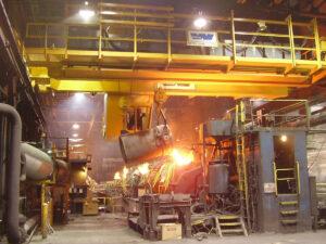 Работа для крановщика на литейном заводе