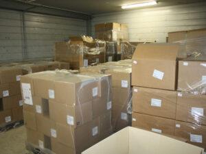 Работа на складе пищевых продуктов